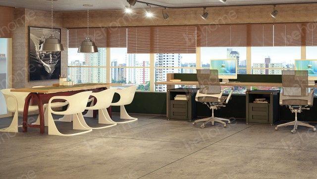 Lindo escritório em Santos - Manhattan Santos - Foto 9