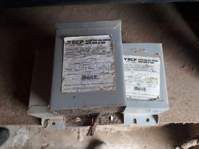 Reator para uma lampada vapor sodio 150w
