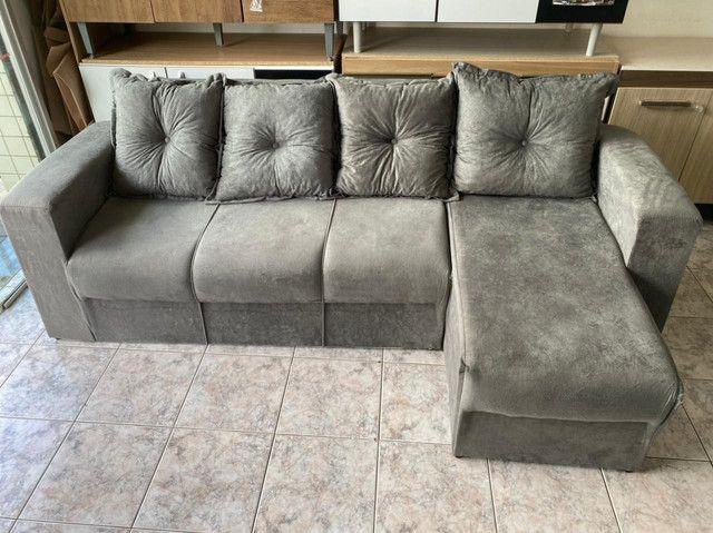 Sofá com Chaise - Foto 2