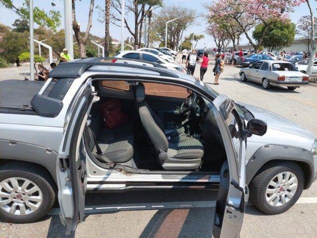 pick-up fiat strada, manual, chave reserva,