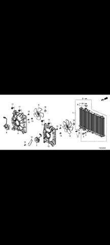Helice motor radiador Honda  - Foto 3