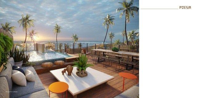 GN- Lançamento beira mar Muro Alto, 2 suítes com rooftop e piscina privativa - Foto 8