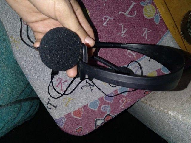 Headset Xbox 360 original. Pouquíssimo usado, sem marcas - Foto 3