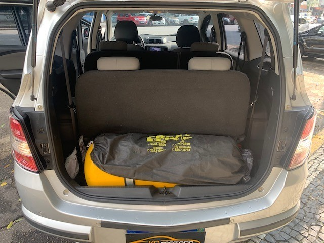 Chevrolet Spin LTZ Automático 7 Lugares TOP Multimídia Rodas GNV 5a Ger. Muito Novo 2016 - Foto 9