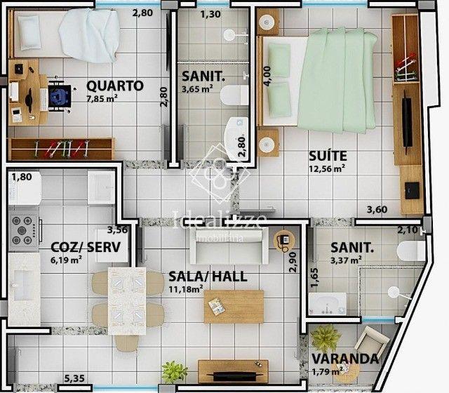 IMO.003 Apartamento para venda Retiro- Volta Redonda, 2 quartos - Foto 12