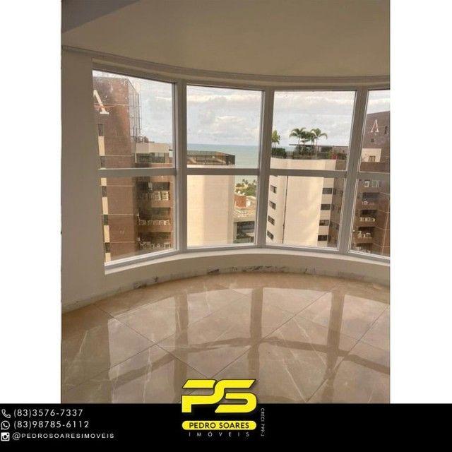 Apartamento com 3 dormitórios para alugar, 190 m² por R$ 6.200/mês - Altiplano Cabo Branco - Foto 4