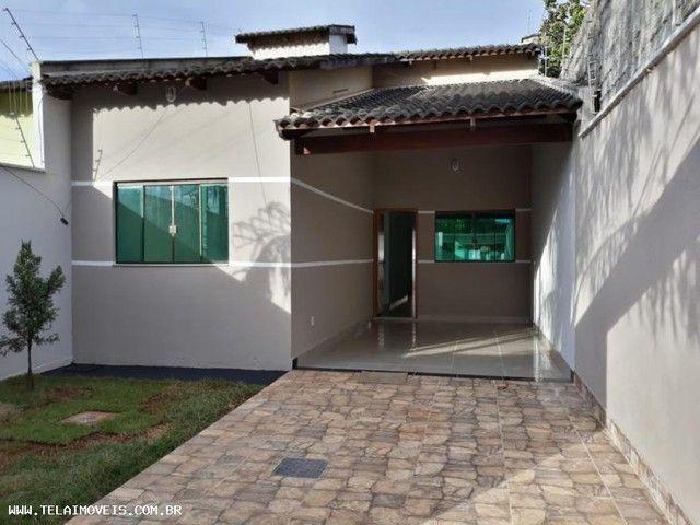 Casa para Venda em Aparecida de Goiânia, Cidade Vera Cruz, 3 dormitórios, 1 suíte, 2 banhe