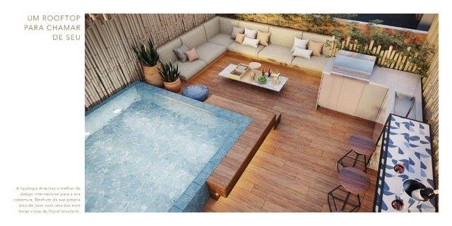 GN- Lançamento beira mar Muro Alto, 2 suítes com rooftop e piscina privativa - Foto 12