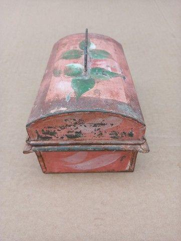 Porta Joias De Metal Antigo - Foto 3