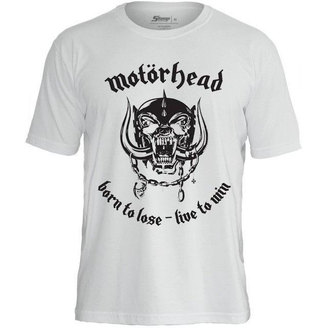 Camisas de bandas de rock - Slayer, AC/DC, Ramones e muito mais - Foto 6