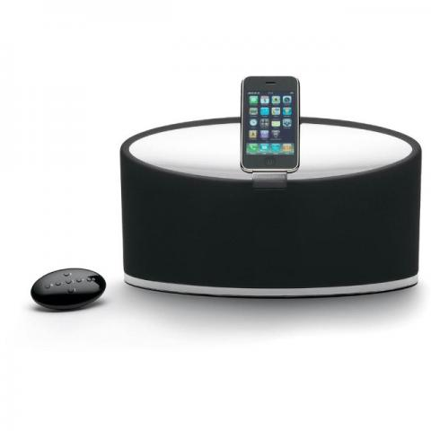 Dock Station Bowers & Wilkins Zeppelin Mini para iPhone/iPod - 36 Watts Preto