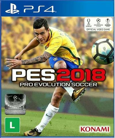 Pro Evolution Soccer 2018 PES 18 PS4 Pré-venda