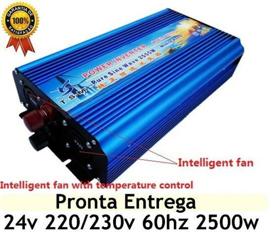 Inversor Onda Senoidal Pura - 2500W