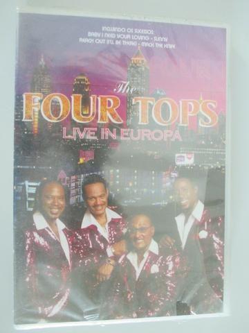 Four Tops - Live in Europa novo, lacrado de fábrica