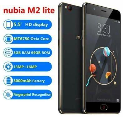 6958c6700a4 Celular nubia m2 produto novo lacrado não faço trocas. só venda