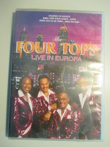 Four Tops - Live in Europa novo, lacrado de fábrica - Foto 2