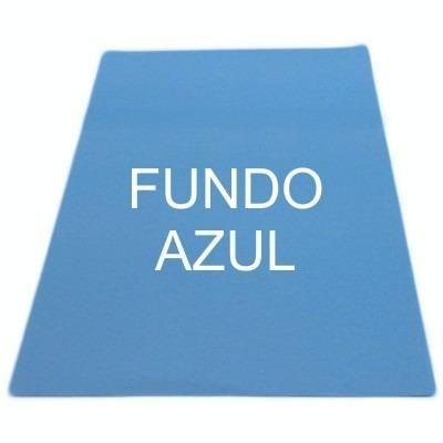 Papel sublimatico fundo azul, pacote com 100 folhas - Foto 2