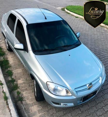 Gm - Chevrolet Prisma Joy 1.4 Flex + GNV - Foto 2