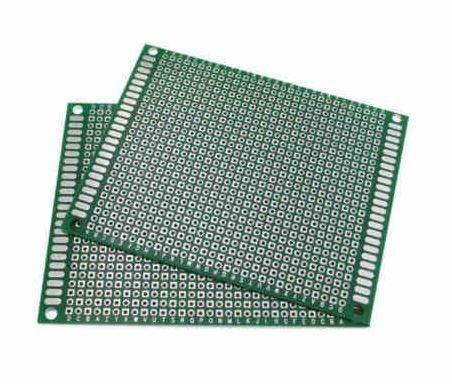 COD-CP102 Placa De Circuito Impresso Dupla Face 7x9 Cm Arduino Automação Robotica