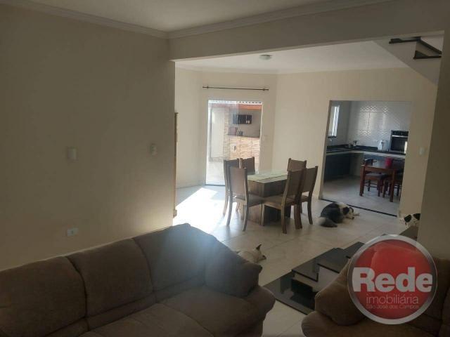 Casa com 3 dormitórios à venda, 143 m² por r$ 500.000,00 - residencial santa paula - jacar - Foto 4