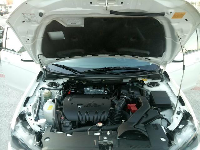 Lancer 160cv Automático Couro Rodas 18' 35.000km Revisado! Melhor que Civic! Troco - Foto 5