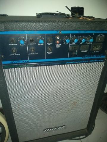 Contra-baixo Tagima tbm5 + caixa amplificada - Foto 4