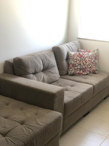 Sofá 3 lugares com chaise - Decore - Foto 5