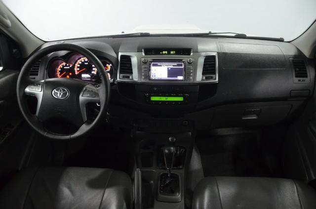 Toyota Hilux Cab. Dupla SRV 4X4 Diesel Automatica.2014.(Negociamos) Temos Strada, S10, - Foto 4