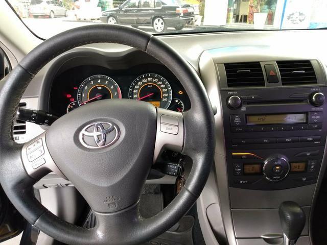 Corolla 1.8 xei 2009 flex unico dono - Foto 6