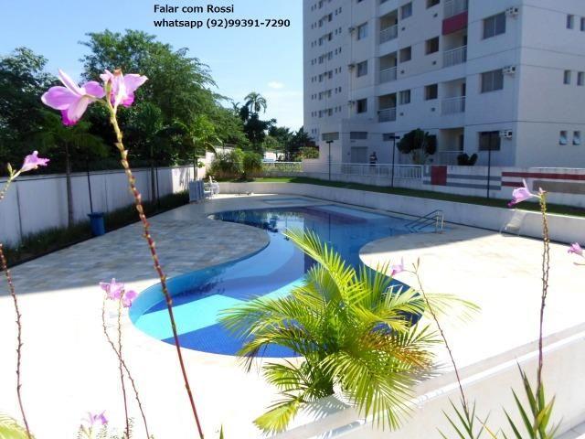 ,Paradise Lake / 64 m² com 2 Quartos - 2 Vagas,