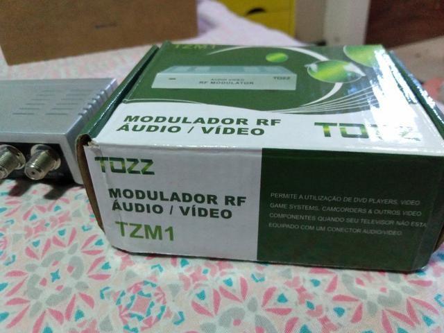 Modulador Rf audio/ video