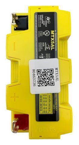 Bateria Gel Motobatt Mtx5al Yb5l-b Yamaha XTZ 125 YBR 125 RD 125 RDZ 135 Crypton T115 - Foto 2
