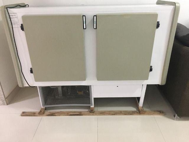 Balcão refrigerado seminovo, freezer,geladeira - Foto 3