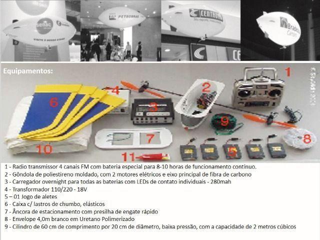 Balão Dirigível Rádio Controlado (Aceito troca do meu interesse) - Foto 4