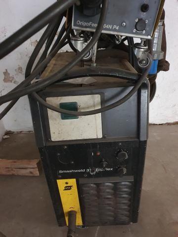 Máquina de solda Mig Esab modelo 318 - Foto 5