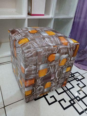 Puffs novos Promoção R$ 45,00 entrega grátis! - Foto 3