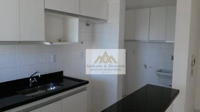 Apartamento com 1 dormitório para alugar, 42 m² por R$ 850/mês - Nova Aliança - Ribeirão P - Foto 7