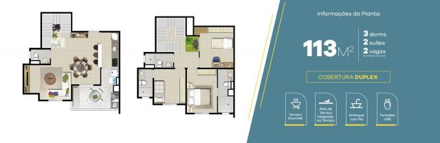 Apartamento no Jardim Vila Galvão, com 2 quartos, sendo 1 suíte e área útil de 83 m² - Foto 3