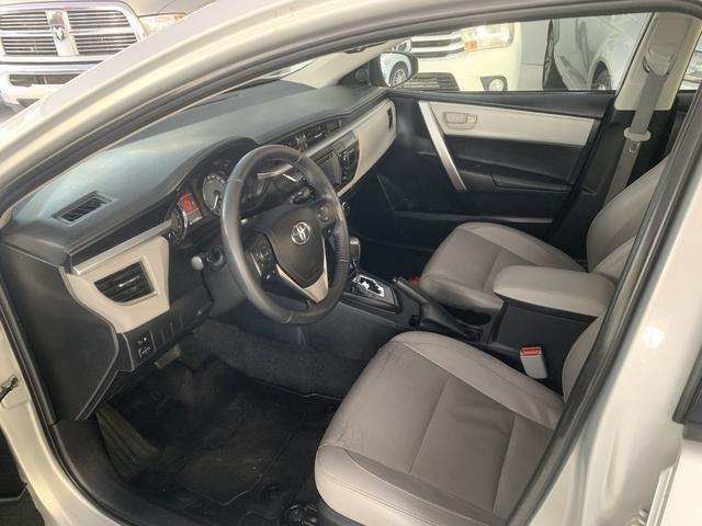 Toyota corolla xei 2.0 flex aut. 2015 prata - Foto 7
