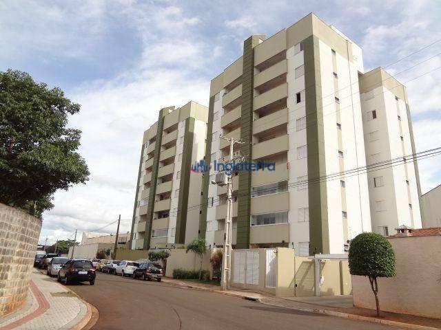 Apartamento com 3 dormitórios à venda, 75 m² por R$ 295.000 - Vale dos Tucanos - Londrina/
