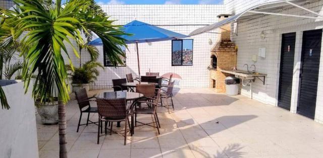 Flat com 1 dormitório para alugar, 38 m² - Poço - Recife/PE - Foto 8