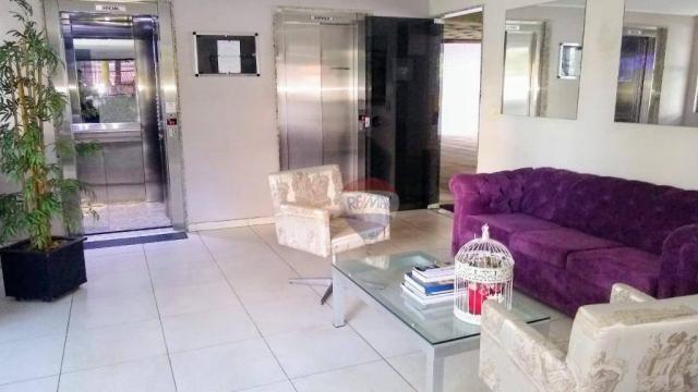 Flat com 1 dormitório para alugar, 38 m² - Poço - Recife/PE - Foto 14