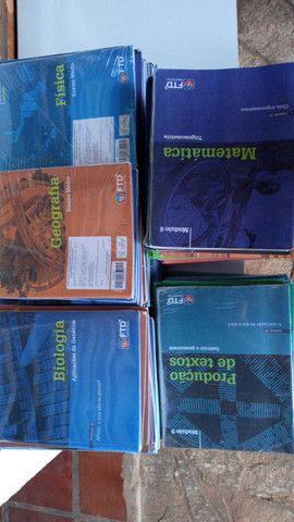+ de 250 cadernos da FTD 2º ano ensino médio / enem / vestibular , R$ 150,00