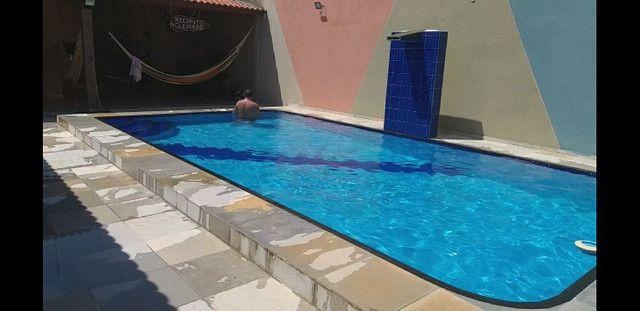 Casa com piscina no novo Iguape R$  600,00 final de semana comum , sexta a domingo. - Foto 14