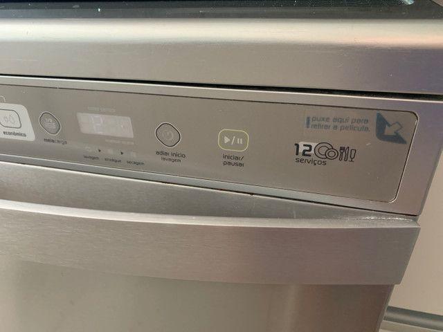 Brastemp máquina lavar prato 12 serviços NOVÍSSIMA  - Foto 3
