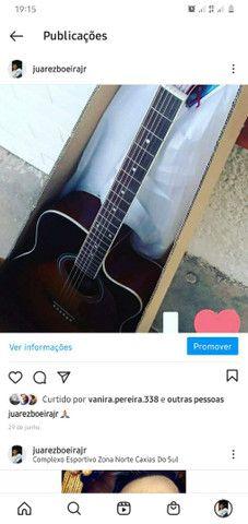 Vendo ou troco violão memphis modelo tagima