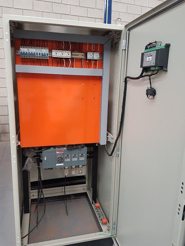 Painel automático para gerador Qta Rampa Paralelismo manual - Foto 4