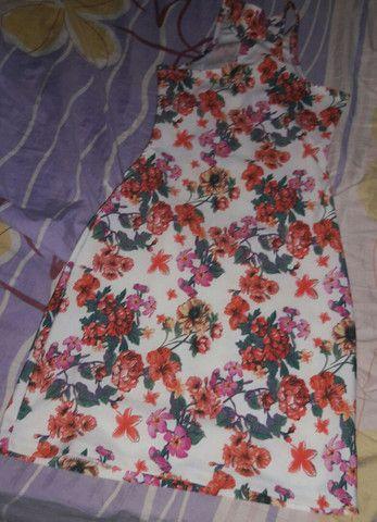 Vestido tamanho único floral  - Foto 2