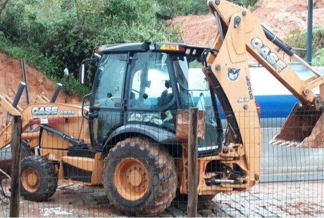Retro Escavadeira Case 580N<br><br>