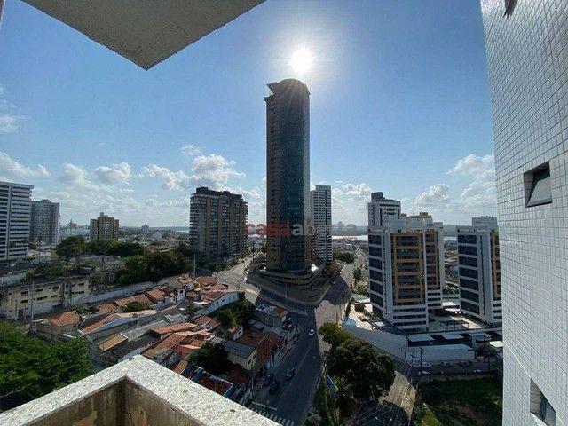 Apartamento com 3 dormitórios à venda, 94 m² por R$ 480.000,00 - Petrópolis - Natal/RN - Foto 4
